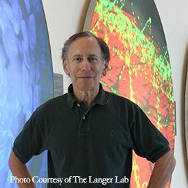 Photo of Professor Langer.
